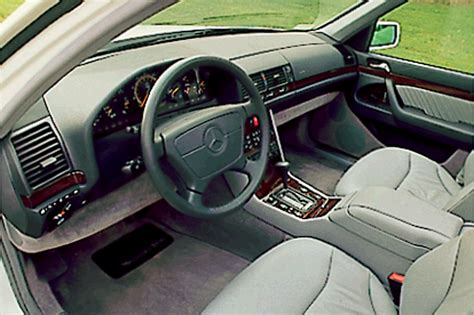 security system 1993 mercedes benz 500e interior lighting 1992 99 mercedes benz s class consumer guide auto