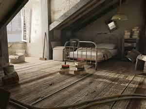 old bedroom 3dsmax old room