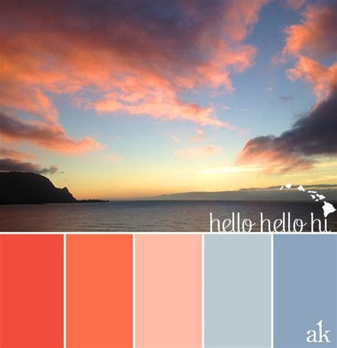 hawaii colors best 25 hawaiian sunset ideas on pictures of