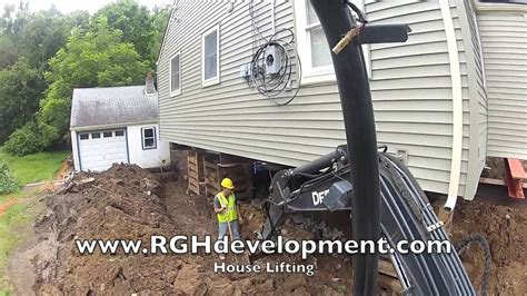 Lifting A Garage From The Foundation by Nj House Lifting Raising Process