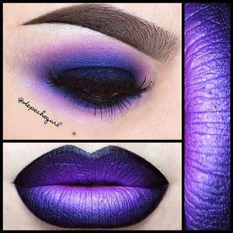 Lipstick Ombre Purple 69 best affair with lipstick images on makeup make up looks and