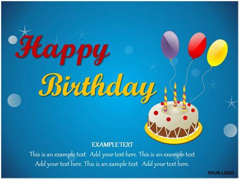 Happy Birthday Powerpoint Template 18 Birthday Powerpoint Templates Images Free Birthday Powerpoint Templates Happy Birthday