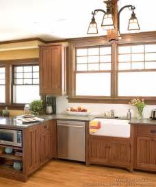 in style kitchen cabinets mission style kitchens designs and photos