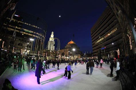 downtown tree lighting celebration buffalo rising