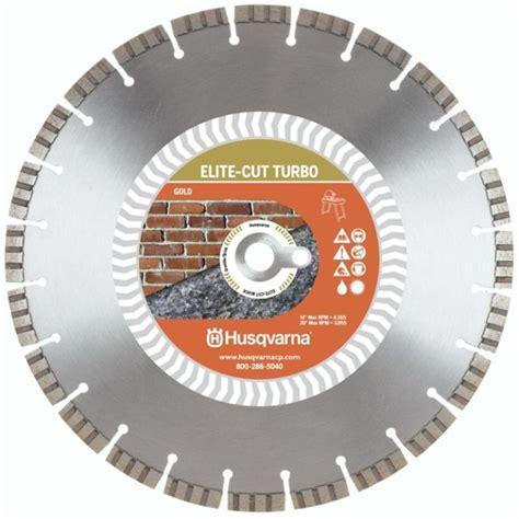 Husqvarna Elite Cut 14 Inch Turbo Masonary Saw Diamond Blade