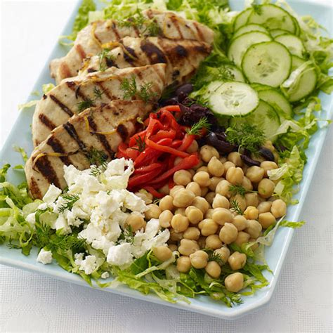 greek salad recipe with grilled lemon chicken culicurious greek lemon dill grilled chicken salad recipes weight