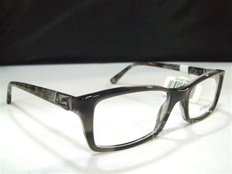 versace ve3152 s black designer eyeglass frames ebay