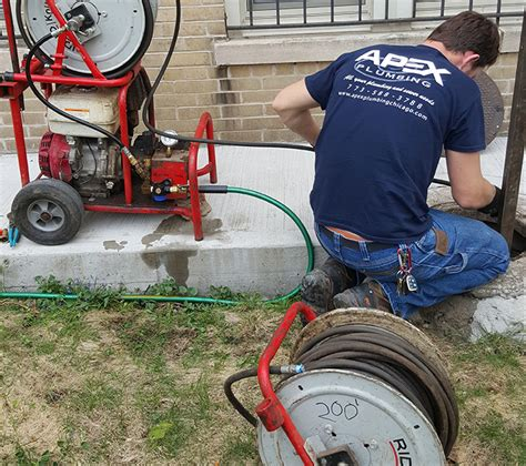 Apex Plumbing Chicago by Chicago Sewer Repair Sewer Line Cleaning Chicago Il