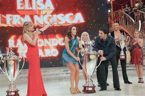Stelan Eliza ballando con le stelle la finale