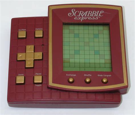 electronic scrabble handheld hasbro scrabble express handheld electronic 199 ebay