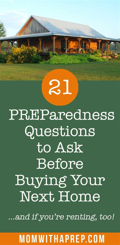 questions to ask when buying a home 21 questions to ask before buying a house mom with a prep