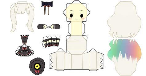 Vocaloid Papercraft - mayu papercraft by fluffyandpuff on deviantart