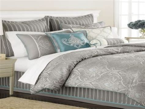 Teal Queen Comforter Set Turquoise And Silver Bedding Turquoise And Grey Comforter