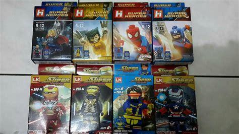 Lego China Captain Patriot Jual Lego Kw China Karakter Marvel Dan Nicotoys
