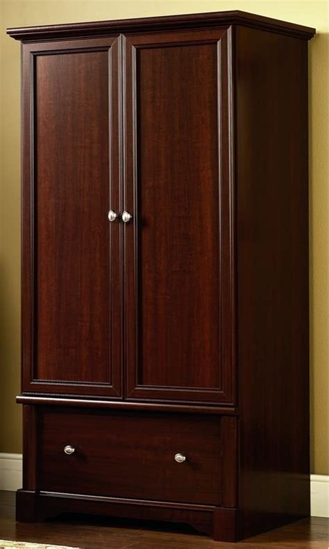 palladia wardrobe armoire select cherry finish wardrobe armoire cherry bachelor on a budget