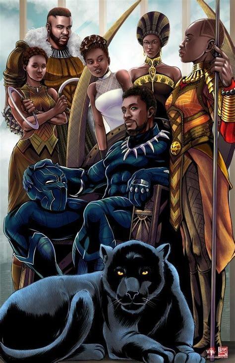 mcu wakandan royal family black panther
