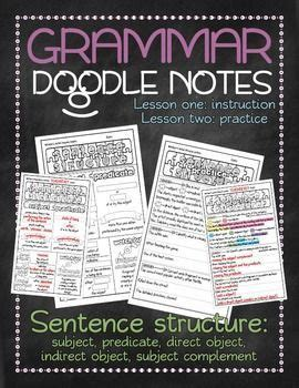 how to use doodle in sentence 25 best ideas about sentence structure on