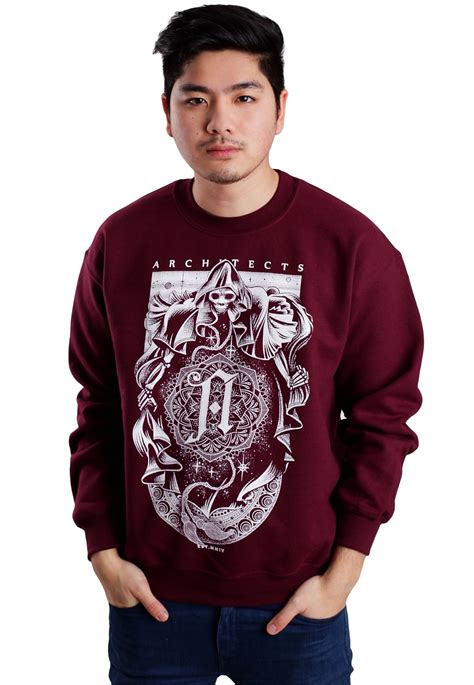 Sweater Cosmic architects cosmic reaper maroon sweater official