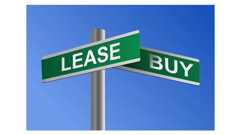 lease vs buy house when to lease business equipment instead of buying