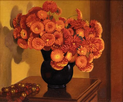 dalie in vaso dalie nel vaso 1940 arte moderna e contemporanea asta