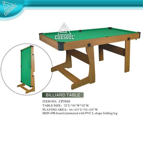 tavolo biliardo pieghevole 6ft tavolo da biliardo pieghevole biliardo e tavoli da
