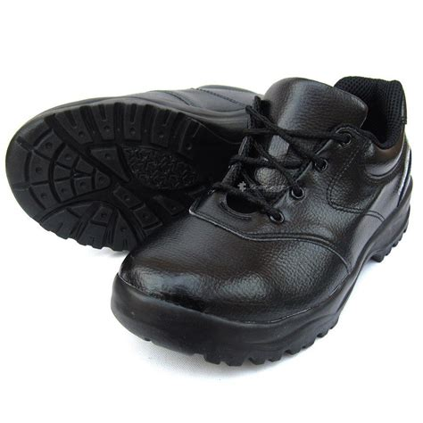 mens chef shoes leather non slip safety for cook poly