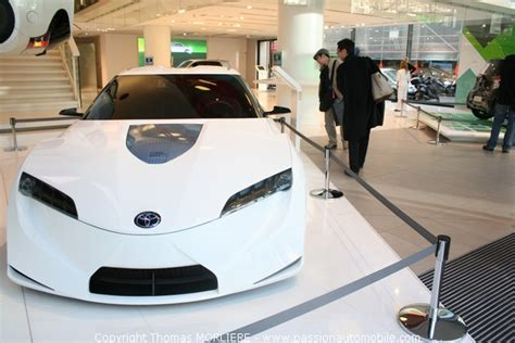 Toyota Hybrid X Concept Hits The Showroom by Ft 86 Concept On Display In Toyota Showroom