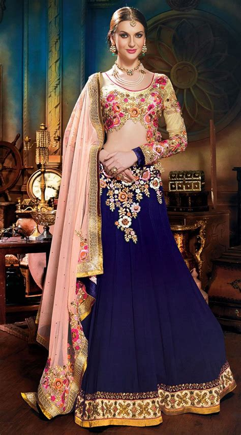 Navy Tunik By Cf this soft net lehenga choli in lovely light pink color