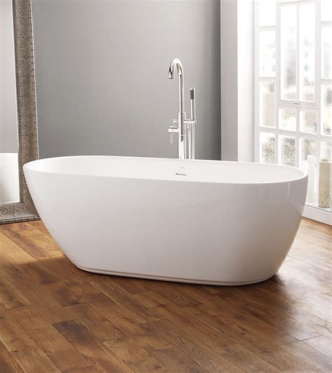 contemporary bathtubs freestanding april harrogate 1700 x 750mm contemporary freestanding