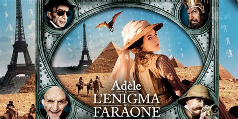 Film L Enigma | adele e l enigma del faraone film stasera in tv su italia