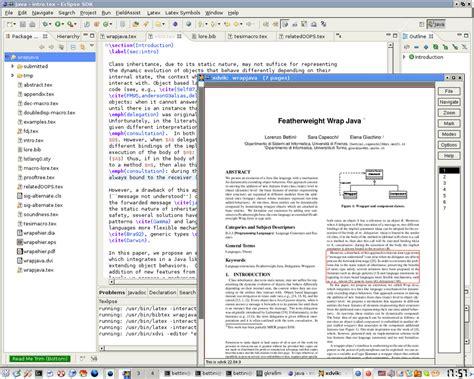 latex tutorial mac os x eclipse html editor plugin phpsourcecode net