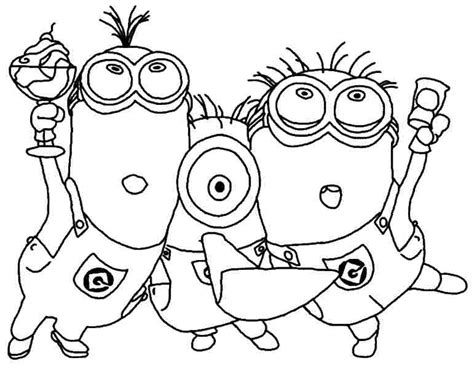 blank minion coloring page free minions coloring pages for kids coloringstar