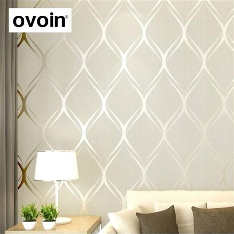 beigewhitegrey luxury modern wallpaper  bedroom walls