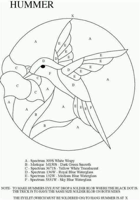 mosaic hummingbird pattern mosaic pattern for project mosaics pinterest