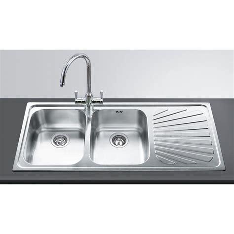 lavelli cucina da incasso smeg sp116d lavello da incasso lavelli da incasso