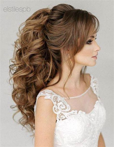 bridal hairstyles ponytail 60 gorgeous amazing wedding hairstyles for the elegant bride