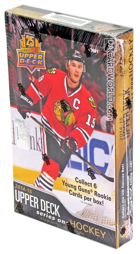 cards on the table series 15 2014 15 deck series 1 hockey hobby box da card world