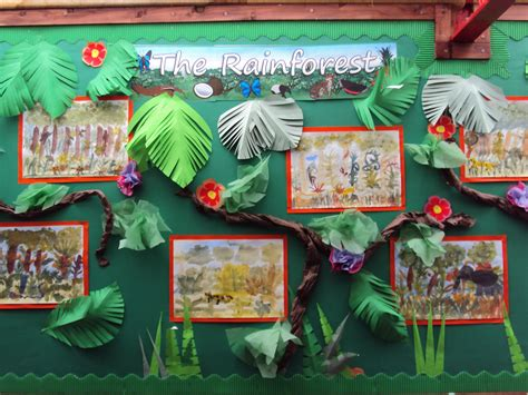 themes for ks2 rousseau inspired art for kids rainforest art ideas for