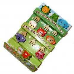 P 3116 Fork Animal Friends japanese bento lunch boxes and accessories japonmania