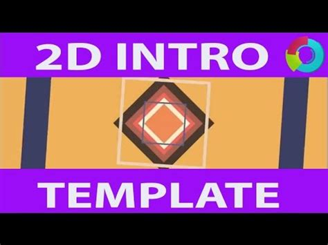 Free 2d Intro Template After Effects Cs6 2d Intro Template Speed No Plugins Required Youtube 2d Intro Template After Effects