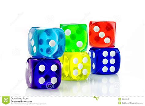 color dice color dice transparent stock photo image of luck white