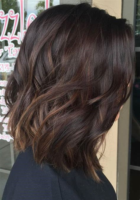 fall highlights for brown hair 25 best ideas about dark brown on pinterest long brown