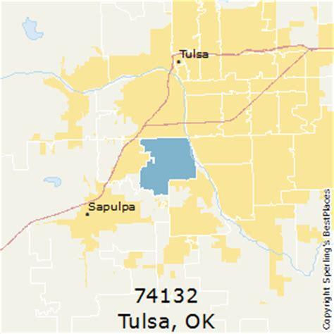 zip code map tulsa best places to live in tulsa zip 74132 oklahoma
