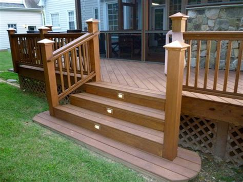Banister Planters Simple Advices To Help You Building Deck Stairs Home