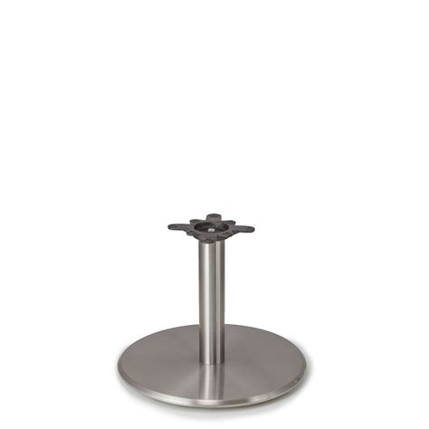 Coffee Table Legs And Bases Argent 22 Satin Chrome Table Base Coffee Table Height 18 Quot Tablebases Quality Table