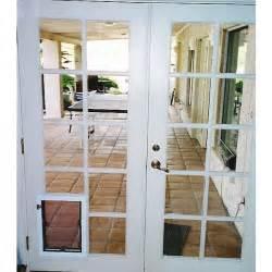 door with built in door must for owners