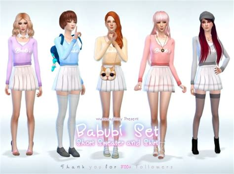 Dress Arina Koreanstyle 1000 images about sims4 custom content on