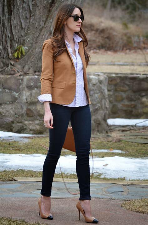 Endia Jacket Wanita Navy blazer with and heels sch 246 ne jeansmodelle
