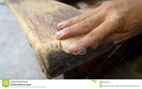 how to clean a couch by hand hand detail using sandpaper to clean a old sofa arm stock