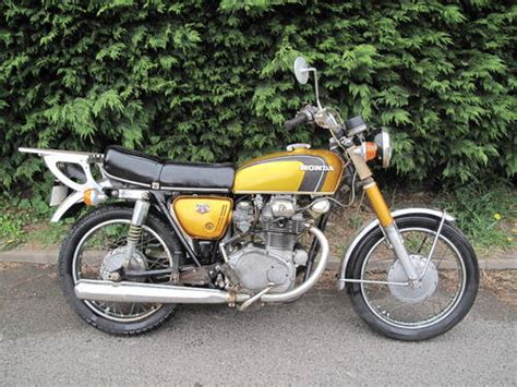 honda cb350 cb 350 k3 1971 ride and restore barn find sold on car and classic uk c866009